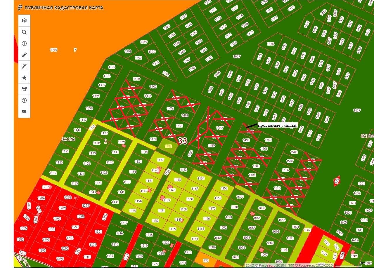 Карта проданных НОВАЯ